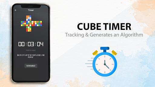 Rubik's Cube : Simulator, Cube Solver and Timer 1.0.4 screenshots 11