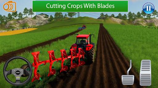 Real Tractor Farming Game:Village life 2021 apklade screenshots 1