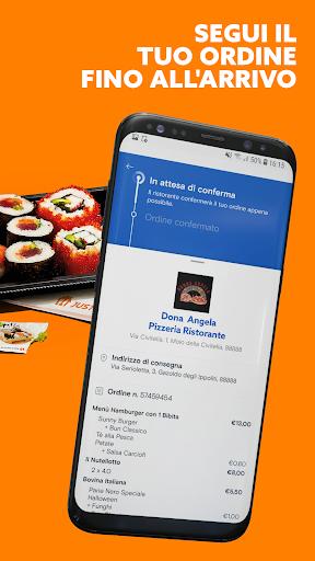 Just Eat Italy - Ordina pranzo e cena a Domicilio apktram screenshots 5