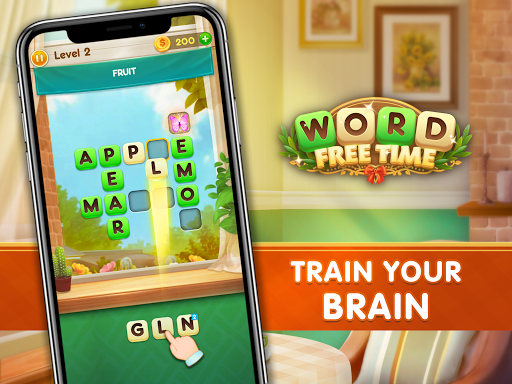 Word Free Time - Crossword Puzzle  screenshots 14
