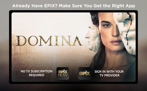 EPIX NOW: Watch TV and Movies apkdebit screenshots 22
