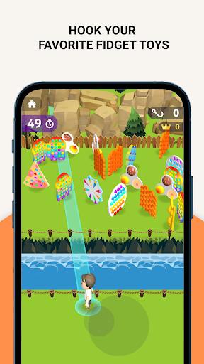 Pop It Bubble Hook - Hook Bubble Pop Fidget Toys  screenshots 3