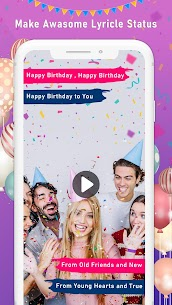 Birthday Video Maker with Song and Name 1.11 [Mod + APK] Android 1