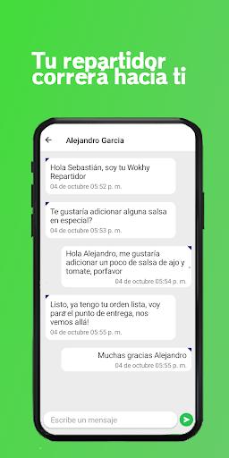 Wokhy - Comida a domicilio 1.5.3 screenshots 6