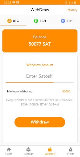 BitFunds - Crypto Cloud Mining  Screenshots 2