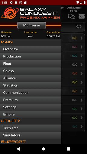 Galaxy Conquest Phoenix Awaken  screenshots 7