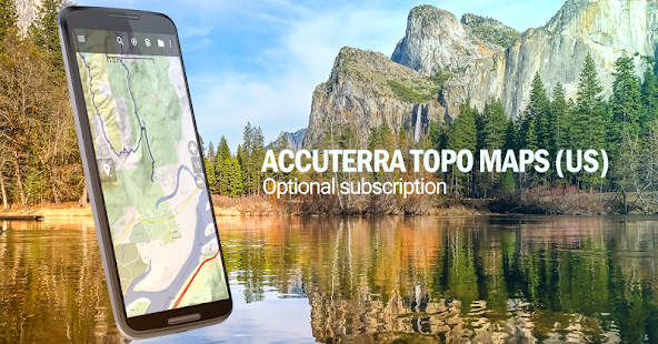 BackCountry Navigator TOPO GPS PRO Screenshot