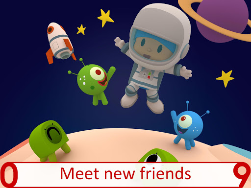 Pocoyo 1, 2, 3 Space Adventure: Discover the Stars  screenshots 11