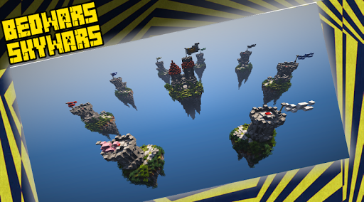 Code Triche BedWars & SkyWars Maps APK Mod screenshots 1
