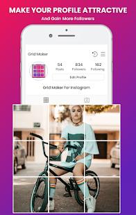 Grid Photo Maker for Instagram 9 Grid Giant Square 2.7 Screenshots 1