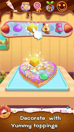 ud83cudf69ud83cudf69Make Donut - Interesting Cooking Game  screenshots 8