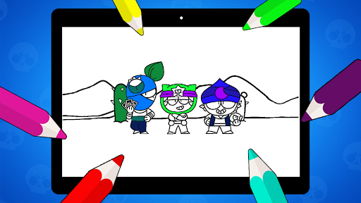 Coloring Pages for Brawl BS  screenshots 13