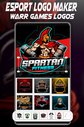 Logo Esport Maker | Create Gaming Logo Maker 1.4 Screenshots 3
