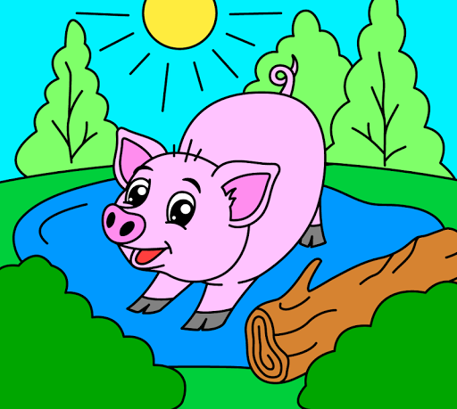 Coloring pages for children: animals 1.1.2 screenshots 4