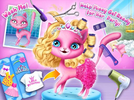 Cat Hair Salon Birthday Party - Virtual Kitty Care 8.0.80007 screenshots 12