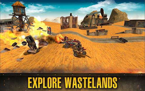 Dead Paradise: Car Shooter & Action Game 1.7 Screenshots 9