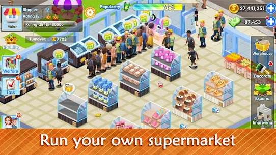 My Supermarket Story : For Pc   How To Install (Download Windows 7, 8, 10, Mac) 2