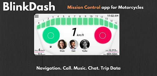 BlinkDash - Smart Speedometer app with GPS, Music 2.0 screenshots 1