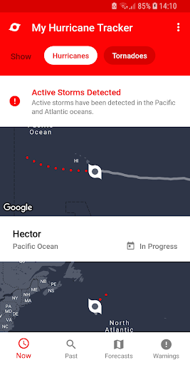 My Hurricane Tracker - Tornado Alerts & Warnings 3.0.1 Screenshots 5