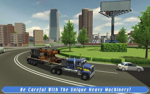 Cargo Truck Driver: American Transport  screenshots 8
