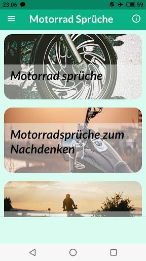 Motorrad Sprüche