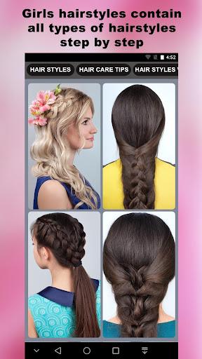 cute girls hairstyles 2020 screenshot 3