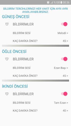 Ezan Vakti Alarmu0131 android2mod screenshots 4