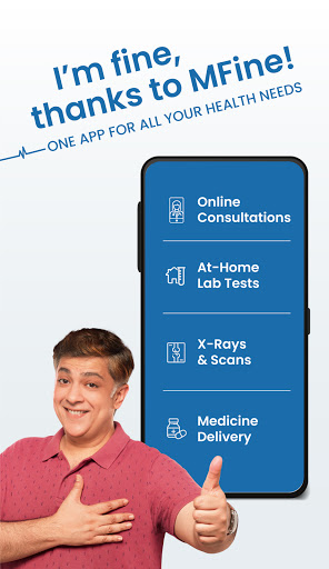 MFine- Online Doctor Consultation, Lab Test, Scans android2mod screenshots 2