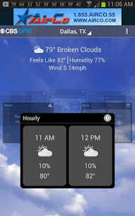 CBS DFW Weather  For Pc 2020 (Download On Windows 7, 8, 10 And Mac) 1