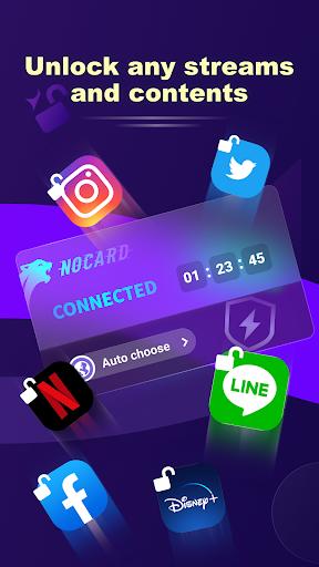 NoCard VPN - Free Fast VPN Proxy, No Card Needed apktram screenshots 4