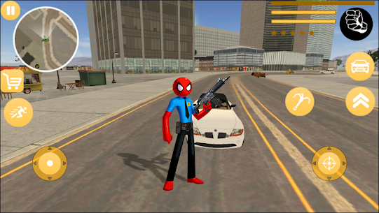 US Spider Police Stickman For Pc In 2020 – Windows 10/8/7 And Mac – Free Download 1