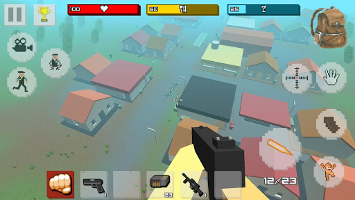 Zombie Craft Survival 3D: Free Shooting Game apkpoly screenshots 16