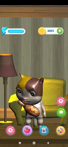 lucy the virtual kitty cat screenshot 2