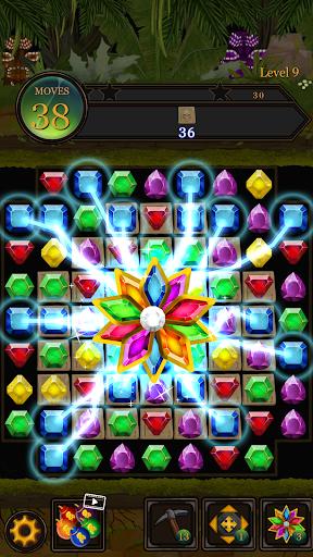Secret Jungle Pop : Match 3 Jewels Puzzle modiapk screenshots 1