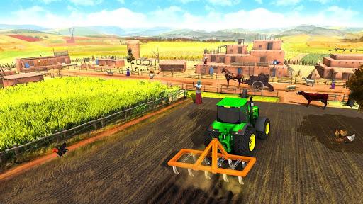 Farming Game 2021 - Free Tractor Driving Games screenshots 11