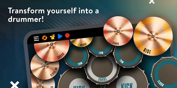 Real Drum Mod Apk 2021 – [ Premium + No Ads] 1