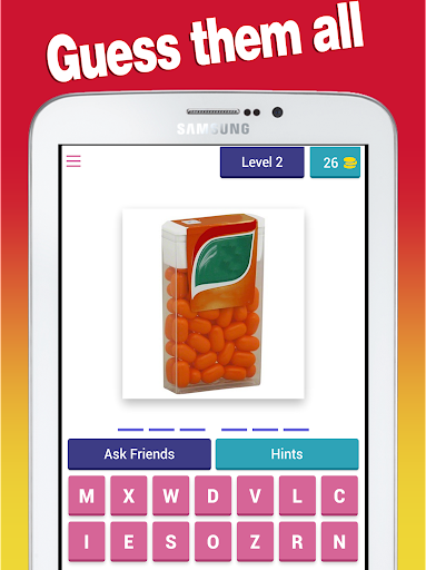 Candy Quiz - Guess Sweets, chocolates and candies 8.8.3z screenshots 7