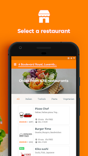 Takeaway.com  Luxembourg  For Pc (Download In Windows 7/8/10 And Mac) 2
