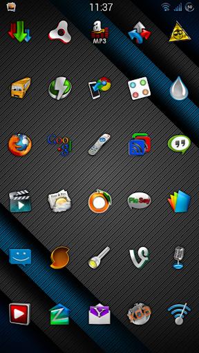 Cobalt Icon Pack  screenshots 3