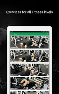 Fitvate - Home & Gym Workout Trainer Fitness Plans Screenshot