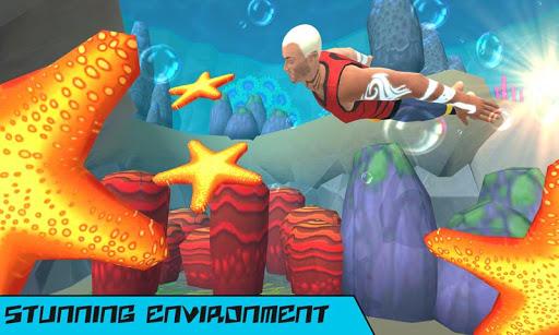 Underwater Aqua Hero Screenshot 2