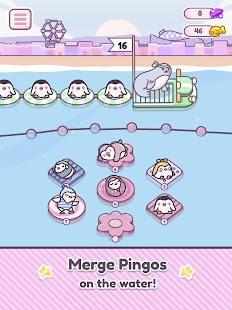 Pingo Park: Merge Penguins Screenshot