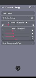 Tonal Tinnitus Therapy MOD APK (Unlimited Usage License) 1