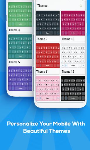 greek keyboard: greek language keyboard screenshot 2