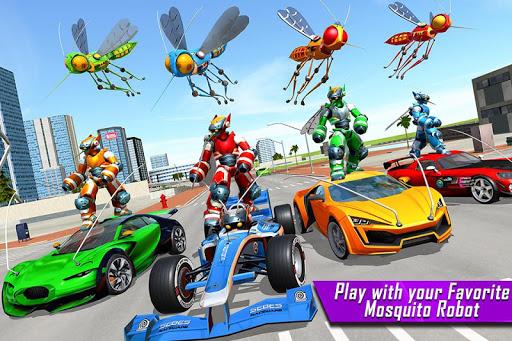 Mosquito Robot Car Game - Transforming Robot Games 1.0.8 screenshots 5