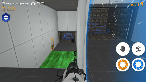 Portal Maze 2 - Aperture spacetime jumper games 3d 2.8 Screenshots 3