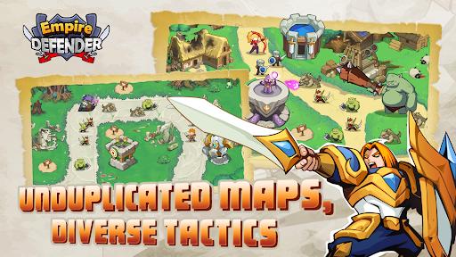 Empire Defender TD: Tower Defense The Kingdom Rush Apkfinish screenshots 11