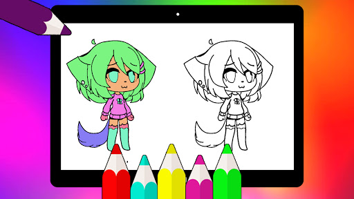 Coloring Pages for Gacha Club 2021 screenshots 13