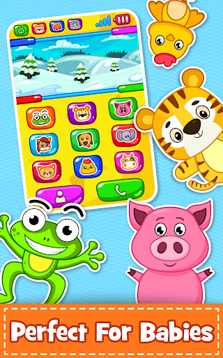 Baby Phone for toddlers - Numbers, Animals & Music 3.3 screenshots 3