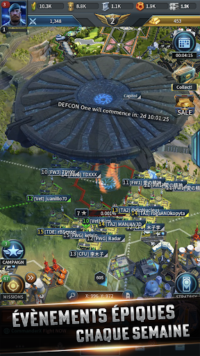 Code Triche Instant War - Jeu de stratégie militaire (Astuce) APK MOD screenshots 3